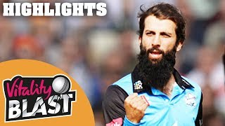 Download Vitality Blast 2018 FINAL | Sussex v Worcestershire - Highlights Video
