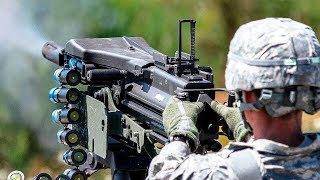 Download The Devastating Mk 19 Grenade Launcher In Action / Shooting [ Mark 19, 40 mm ] Video