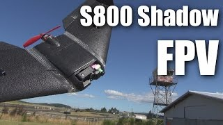 Download S800 Shadow Wing from Banggood, FPV flight Video