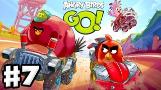 Download Angry Birds Go! 2.0! Gameplay Walkthrough Part 7 - Corporal Pig Race! 3 Stars! (iOS, Android) Video