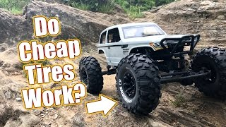 Download Cheap Crawler Tires With Grip - Duratrax Showdown CR Tires Video