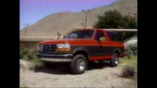 Download 1993 Ford Bronco Dealer Training Video Video
