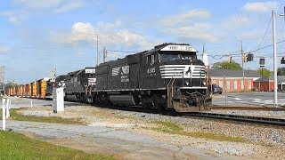 Download NS ??? enters the main in Bremen, Ga. Video