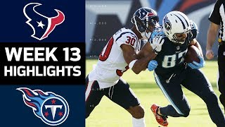 Download Texans vs. Titans | NFL Week 13 Game Highlights Video