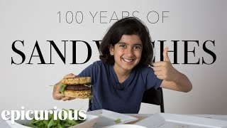 Download Kids Try 100 Years of Sandwiches from 1900 to 2000 | Bon Appetit Video