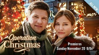 Download Preview - Operation Christmas - Starring Tricia Helfer & Marc Bluca - Hallmark Movies & Mysteries Video