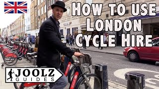 Download How to use TFL London Cycle Hire - Santander Cycles Video