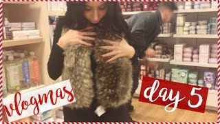 Download CHRISTMAS SHOPPING & DATE NIGHT W/ TONI & PAUL | VLOGMAS DAY 5 Video