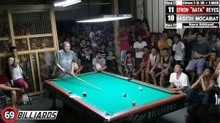 Download (4) Baseth ″Kingpin″ Mocaibat Vs Efren ″Bata″ Reyes (Dasmarinas Cavite) Video