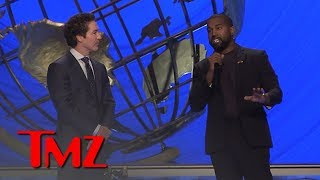 Download Kanye West Defends Joel Osteen from the Pulpit at Lakewood Church | TMZ Video