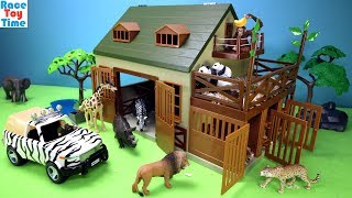 Download Safari Wildlife Animal Care Terra Playset - Fun Animals Toys For Kids Video