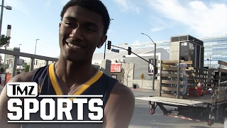 Download RON ARTEST III 1-ON-1 VS LIANGELO BALL?... I'd Beat Him | TMZ Sports Video