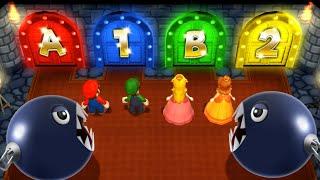 Download Mario Party 9 MiniGames - Peach Vs Mario Vs Daisy Vs Luigi (Master Cpu) Video