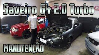 Download VW Saveiro Surf G4 2.0 Turbo, manutenção corretiva, novo turbo HX35 Video
