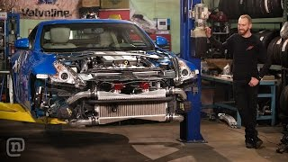 Download Dual Turbo Street Car Upgrade & A Missile Makeover: Drift Garage Ep. 202 Video