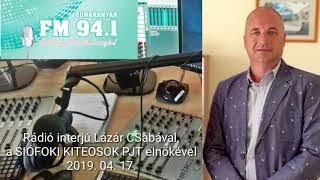 Download Siófoki Kiteosok - Rádió Interjú I LázárCSaba Vlog S09E18 Video