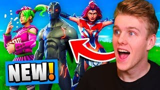 Download *NEW* ALL SEASON 4 SKINS In Fortnite Battle Royale! (TIER 100 Battle Pass) Video