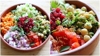 Download Weight Loss Salad Recipe For Dinner - How To Lose Weight Fast With Salad - Indian Veg Meal/Diet Plan Video