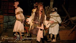 Download Johnny Depp Surprises Fans as Captain Jack Sparrow at Disneyland! Video