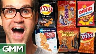 Download BBQ Snack Taste Test Video