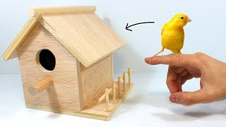 Download How to Make a Birdhouse or Bird Nest Video