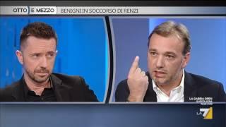 Download Otto e mezzo - Benigni in soccorso di Renzi (Puntata 05/10/2016) Video