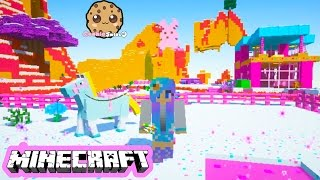 Download Cookieswirlc Minecraft Game Play Sugar World Animals Baby Elephant Ponies Let's Play Gaming Video Video