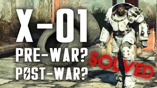 Download Solved! Was the X-01 Power Armor Built Before or After the Great War? - Fallout 4 Lore Video