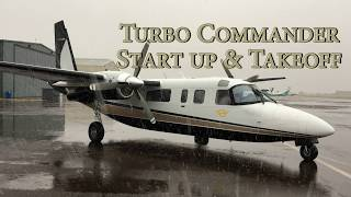 Download Turbo Commander - Start Up Procedures & Takeoff Video