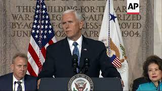 Download Pence: Space Force 'will be a reality' very soon Video