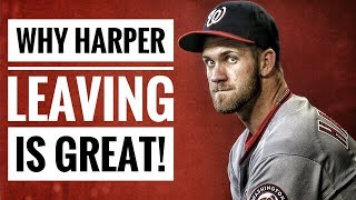 Download Why Bryce Harper LEAVING is GREAT for the Nationals! Video