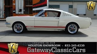 Download 1965 Ford Mustang Stock #484 Gateway Classic Cars Houston Showroom Video