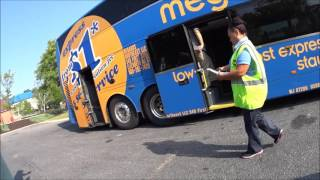Download Getting On And Inside A Megabus Video