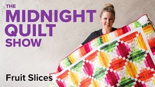 Download 4-Color Fruit Slices Quilt | Midnight Quilt Show with Angela Walters Video