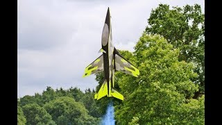Download *THRUST VECTORED TUMBLING & HOVERING* RC MEPHISTO TURBINE AEROBATIC/3D SPORTS JET WESTON PARK - 2018 Video