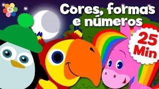 Download Vídeos Educativos para crianças – Compilação | Cores, formas, números e muito mais! | BabyFirst Video