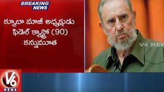 Download Cuba Former President Fidel Castro Passes Away || V6 News Video