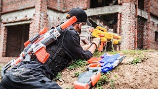 Download LTT Nerf War : Two Police Mission Nerf Guns | Seal X Attack Criminal Group Rescue Teammates Video