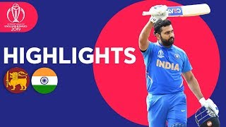Download Rohit Breaks Centuries Record In Win | Sri Lanka vs India - Highlights | ICC Cricket World Cup 2019 Video