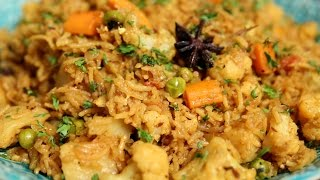 Download Vegetable Tehri | Easy To Make One Pot Rice Dish - Indian Delicacy | Ruchi's Kitchen Video