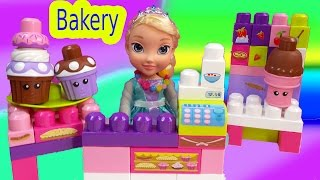 Download Queen Elsa Disney Frozen Ice Cream Cupcakes Bakery in a Bag MEGA Bloks Lego like Toy Video