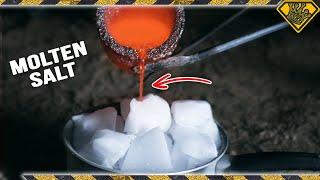 Download Molten Salt Vs. Dry Ice Video
