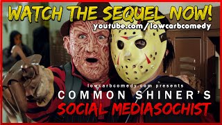 Download Common Shiner's Social Mediasochist | Teen Slasher Romantic Parody Music Video | Lowcarbcomedy Video