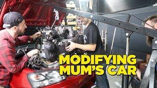 Download Modifying Mum's Car Video