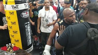 Download FLOYD MAYWEATHER HEATED!! FLOYD IN RARE ″PRETTY BOY″ MODE TRAINING FOR CONOR MCGREGOR Video