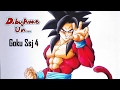 Download Como dibujar a GOKU Ssj 4 (dragon ball GT) materiales económicos. How to draw GOKU SUPER SAIYAN 4. Video