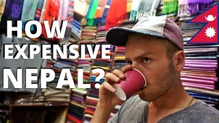 Download HOW EXPENSIVE is NEPAL? Budget Travel, Kathmandu Video