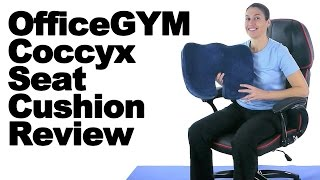 Download OfficeGYM Coccyx Seat Cushion Review & Proper Sitting Tips - Ask Doctor Jo Video