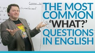 Download The 10 Most Common ″WHAT″ Questions in English Video