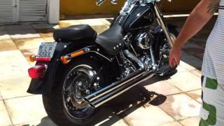 Download Harley Softail Fatboy + Cobra Speedster Slashdown Video